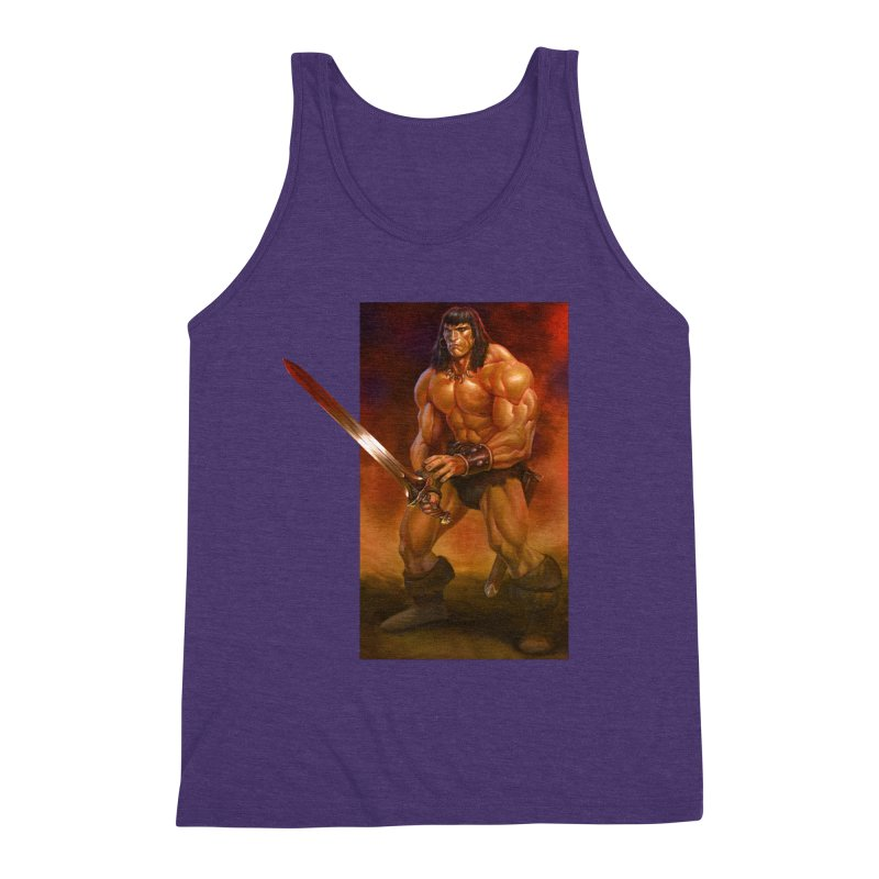 The Barbarian Men's Tank by Ambrose H.H.'s Artist Shop