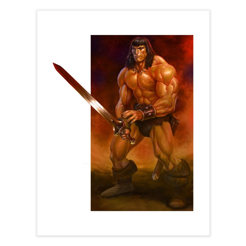 The Barbarian Home Fine Art Print by Ambrose H.H.'s Artist Shop