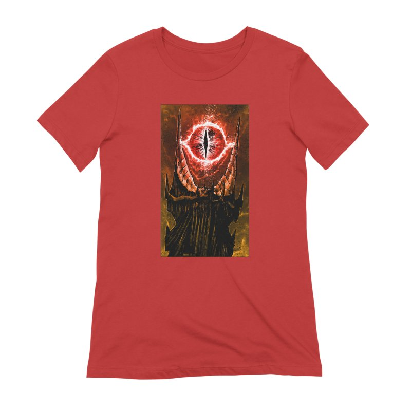 The Great Eye Women's Extra Soft T-Shirt by Ambrose H.H.'s Artist Shop