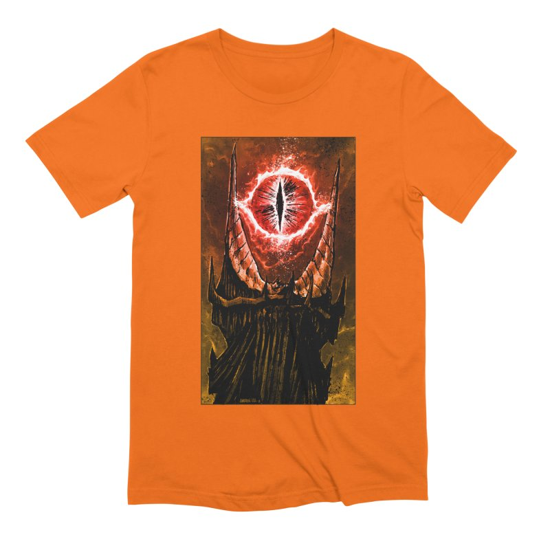 The Great Eye Men's Extra Soft T-Shirt by Ambrose H.H.'s Artist Shop