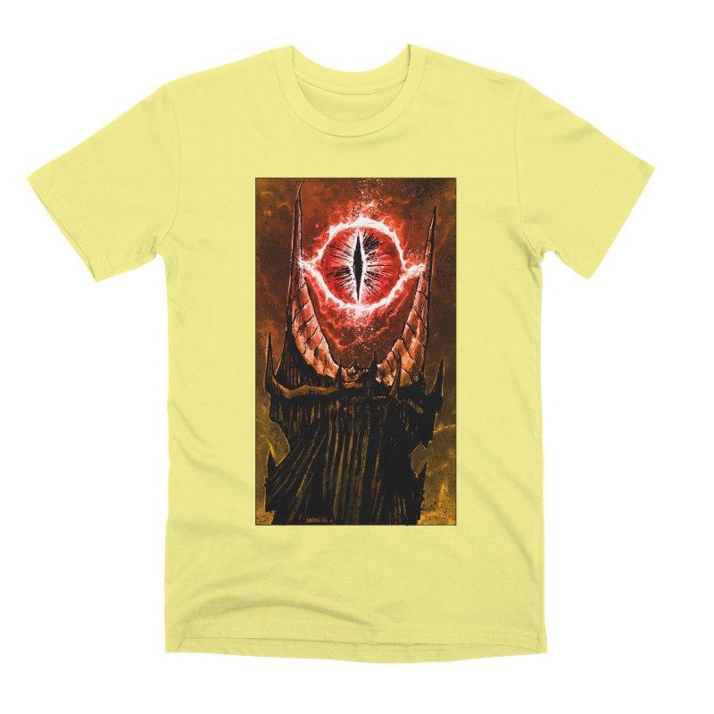 The Great Eye Men's Premium T-Shirt by Ambrose H.H.'s Artist Shop