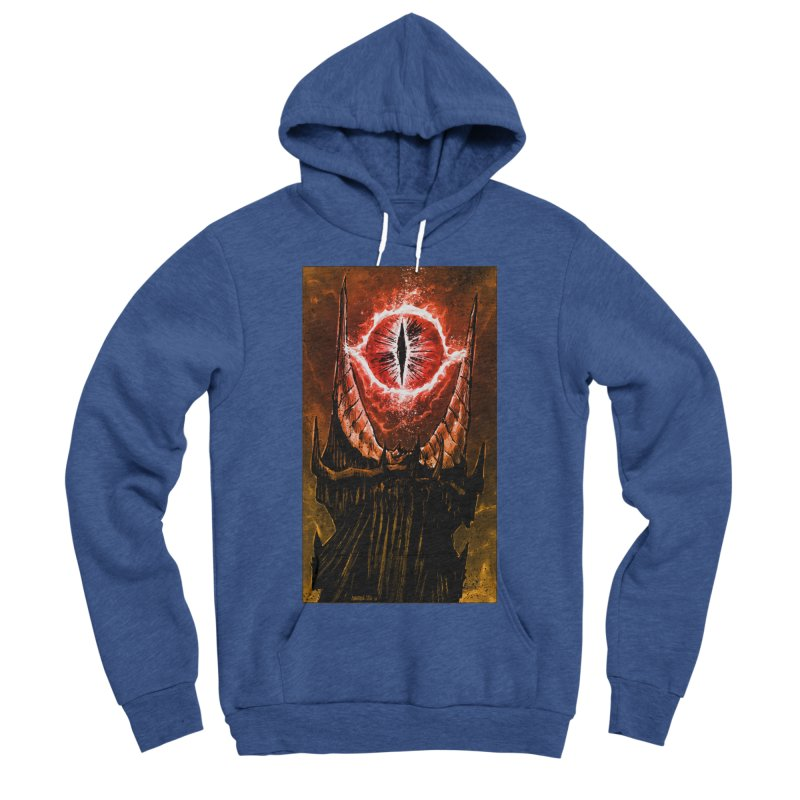 The Great Eye Women's Sponge Fleece Pullover Hoody by Ambrose H.H.'s Artist Shop