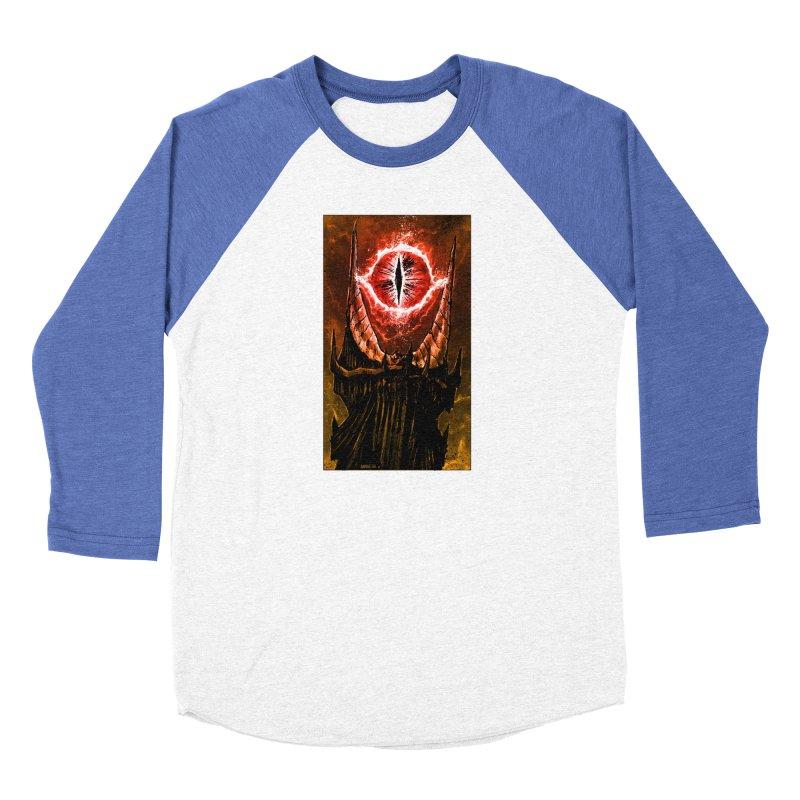 The Great Eye Women's Baseball Triblend Longsleeve T-Shirt by Ambrose H.H.'s Artist Shop