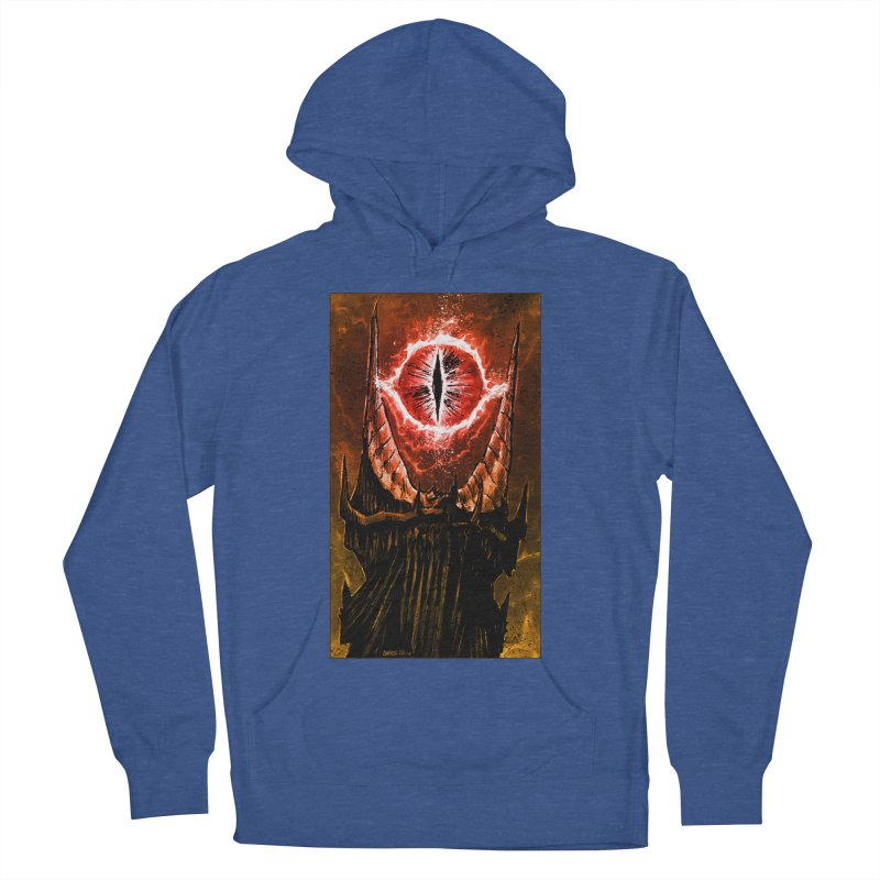 The Great Eye Men's French Terry Pullover Hoody by Ambrose H.H.'s Artist Shop