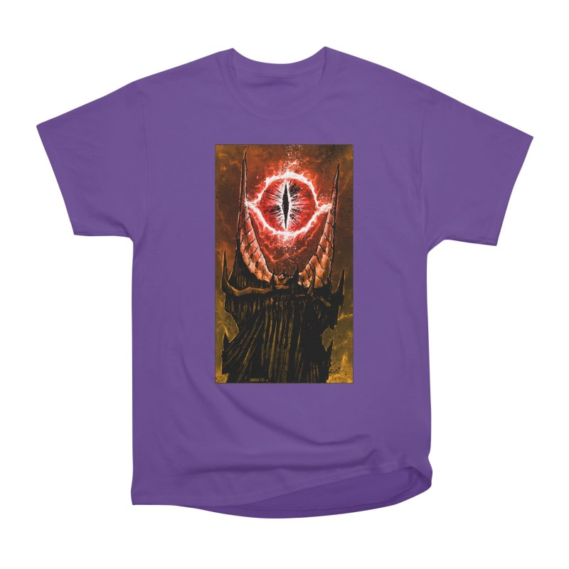 The Great Eye Men's Heavyweight T-Shirt by Ambrose H.H.'s Artist Shop