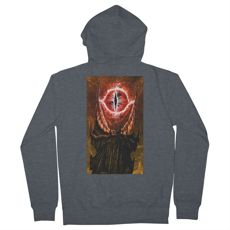 The Great Eye Women's French Terry Zip-Up Hoody by Ambrose H.H.'s Artist Shop