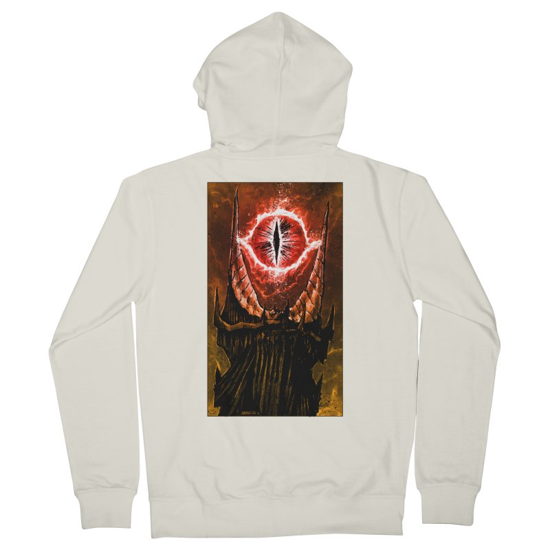 The Great Eye Women's Zip-Up Hoody by Ambrose H.H.'s Artist Shop