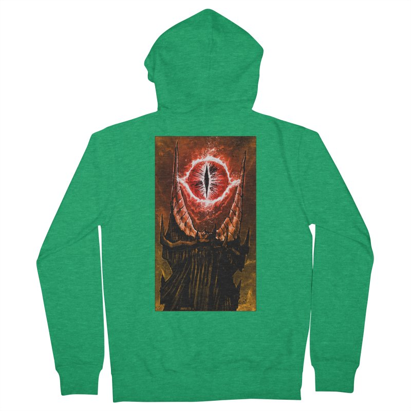 The Great Eye Men's Zip-Up Hoody by Ambrose H.H.'s Artist Shop