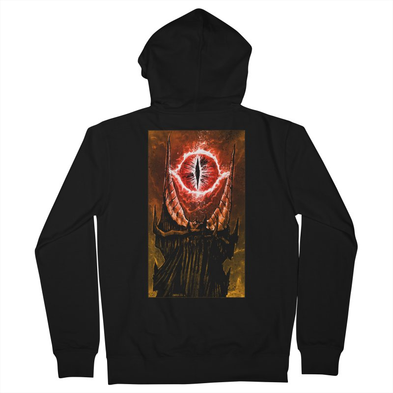 The Great Eye Men's French Terry Zip-Up Hoody by Ambrose H.H.'s Artist Shop