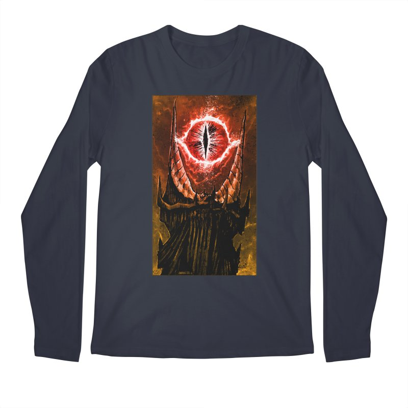 The Great Eye Men's Longsleeve T-Shirt by Ambrose H.H.'s Artist Shop