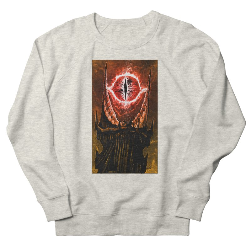 The Great Eye Women's French Terry Sweatshirt by Ambrose H.H.'s Artist Shop