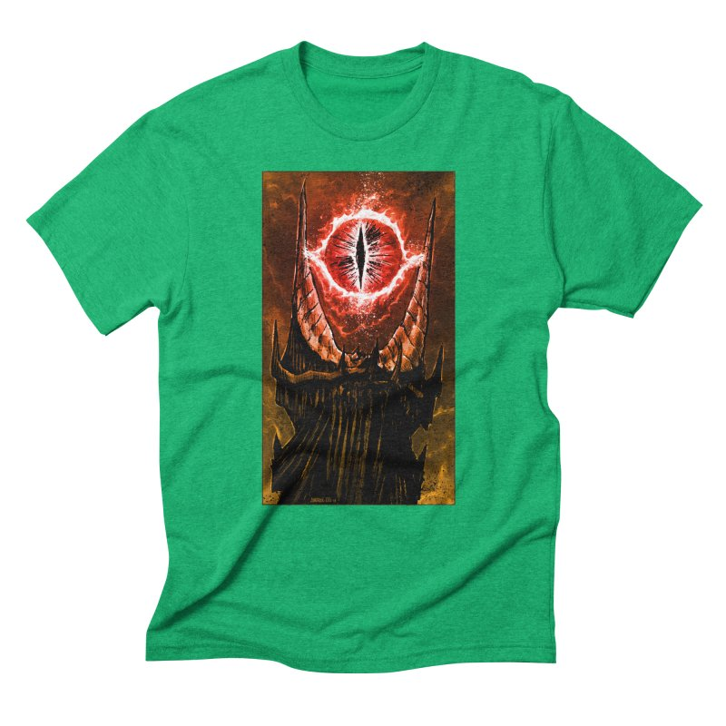 The Great Eye Men's Triblend T-Shirt by Ambrose H.H.'s Artist Shop