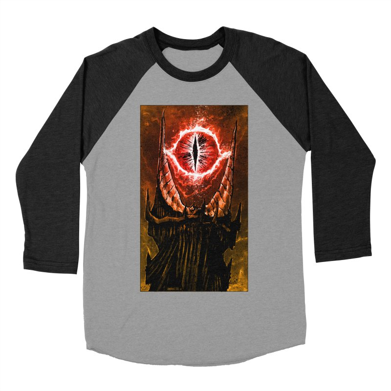 The Great Eye Men's Baseball Triblend Longsleeve T-Shirt by Ambrose H.H.'s Artist Shop