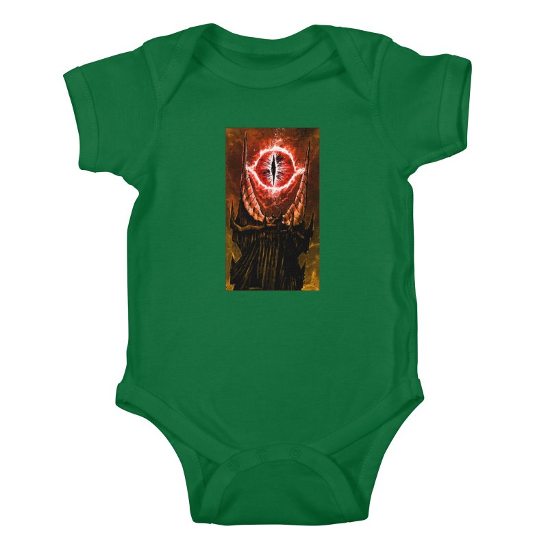 The Great Eye Kids Baby Bodysuit by Ambrose H.H.'s Artist Shop