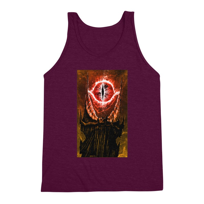 The Great Eye Men's Triblend Tank by Ambrose H.H.'s Artist Shop