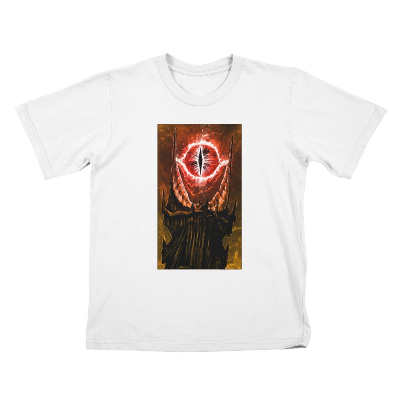 The Great Eye Kids T-Shirt by Ambrose H.H.'s Artist Shop