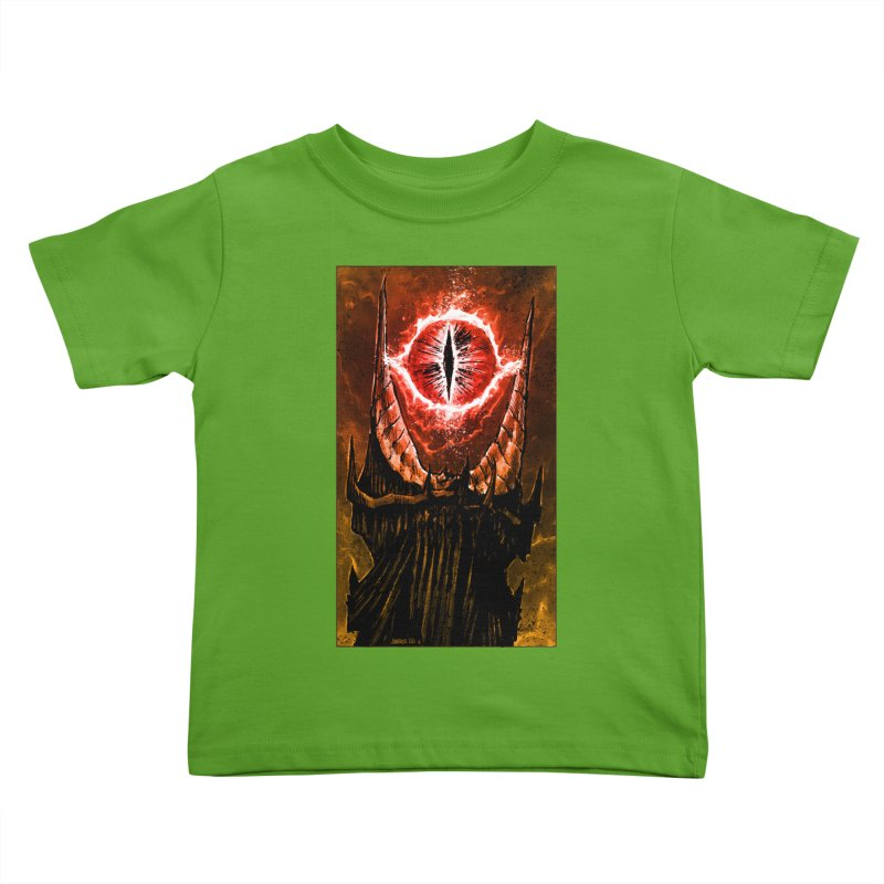 The Great Eye Kids Toddler T-Shirt by Ambrose H.H.'s Artist Shop