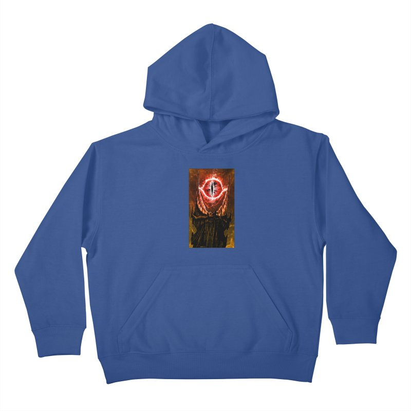 The Great Eye Kids Pullover Hoody by Ambrose H.H.'s Artist Shop