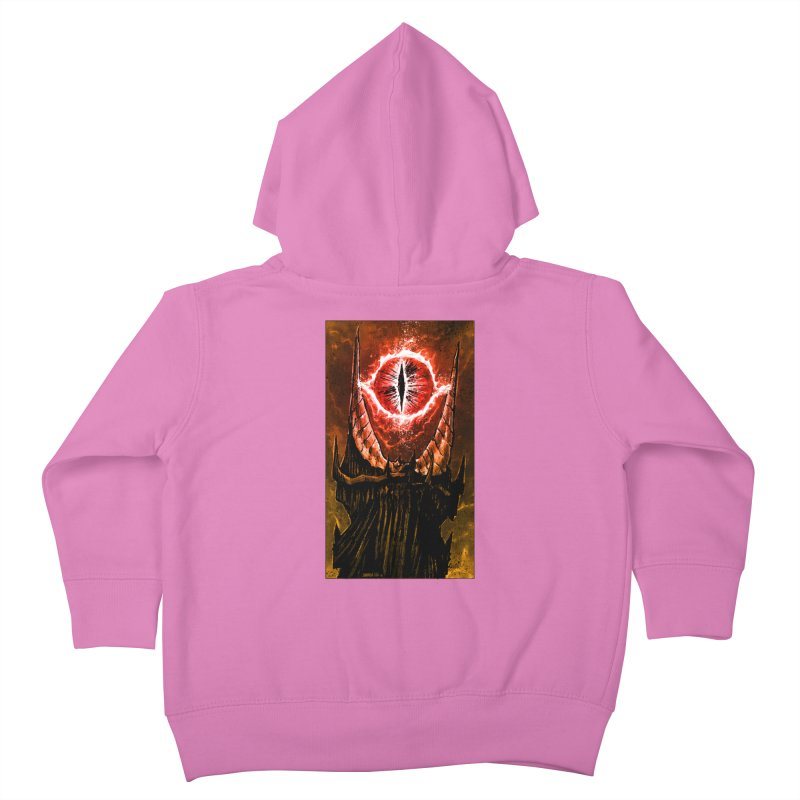 The Great Eye Kids Toddler Zip-Up Hoody by Ambrose H.H.'s Artist Shop