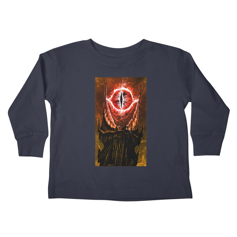 The Great Eye Kids Toddler Longsleeve T-Shirt by Ambrose H.H.'s Artist Shop