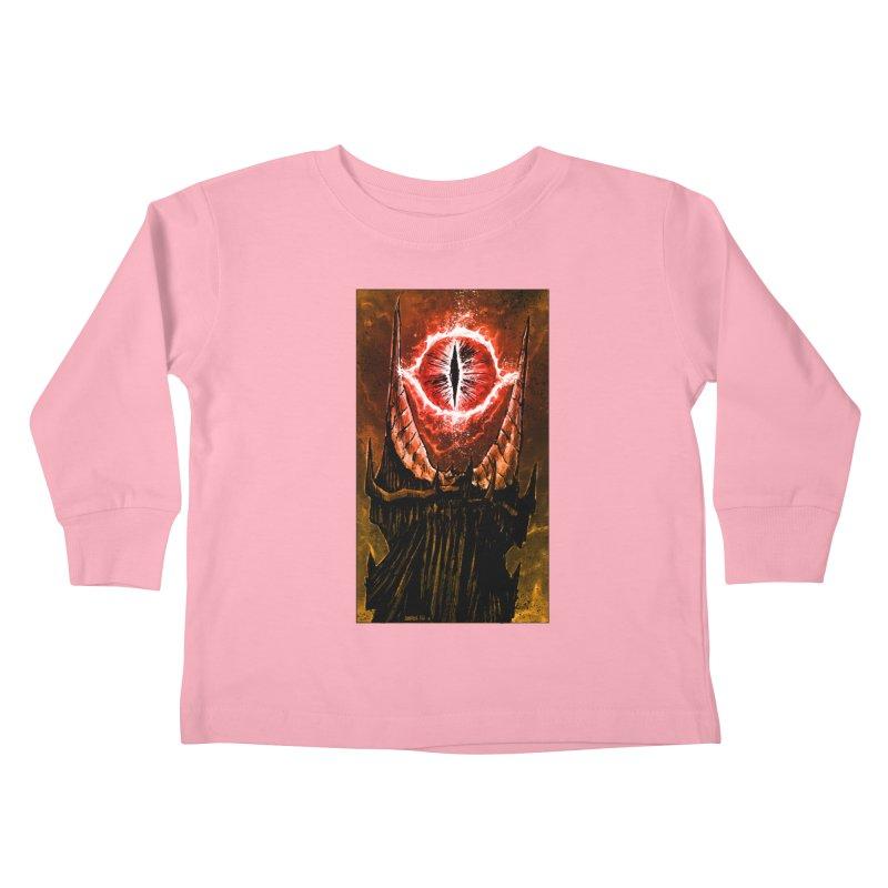 The Great Eye Kids Toddler Longsleeve T-Shirt by Ambrose H.H.'s Artist Shop