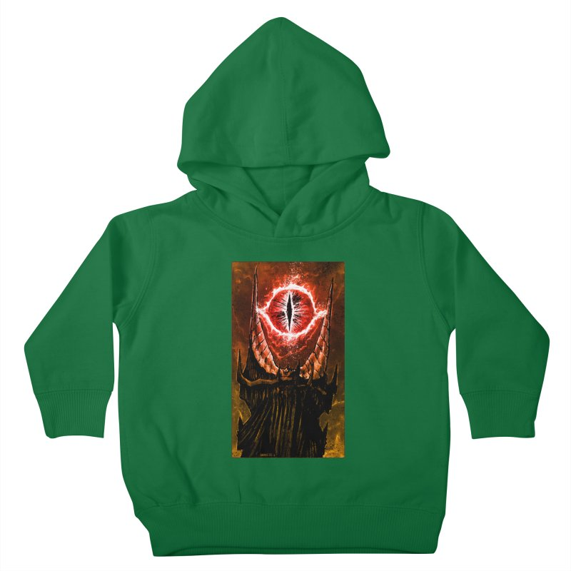 The Great Eye Kids Toddler Pullover Hoody by Ambrose H.H.'s Artist Shop