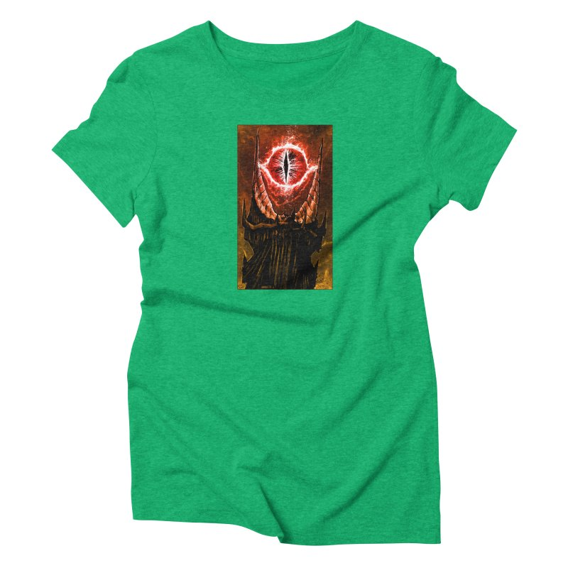 The Great Eye Women's T-Shirt by Ambrose H.H.'s Artist Shop