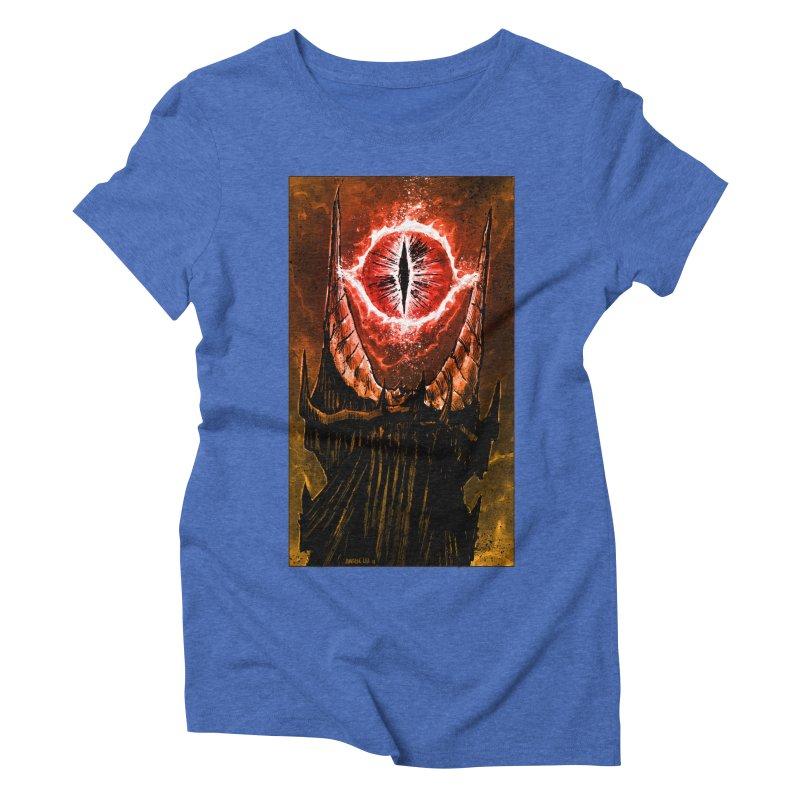 The Great Eye Women's Triblend T-Shirt by Ambrose H.H.'s Artist Shop