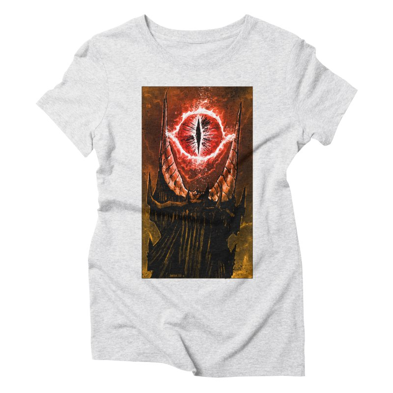 The Great Eye Women's Triblend T-Shirt by Ambrose H.H.'s Artist Shop