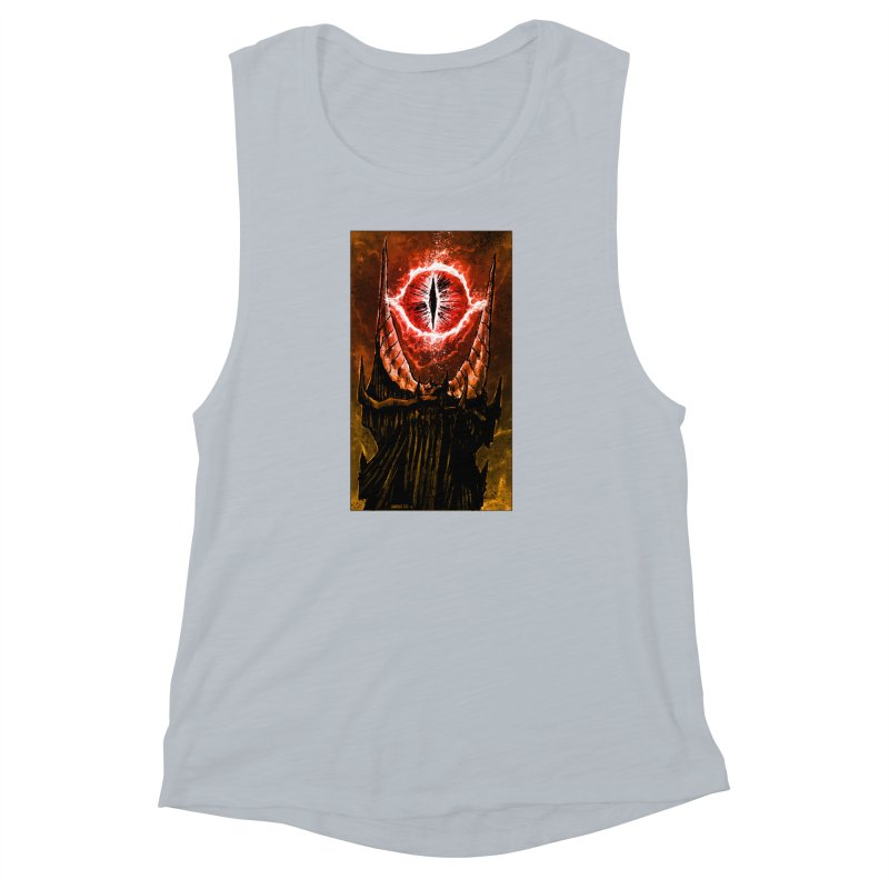The Great Eye Women's Muscle Tank by Ambrose H.H.'s Artist Shop