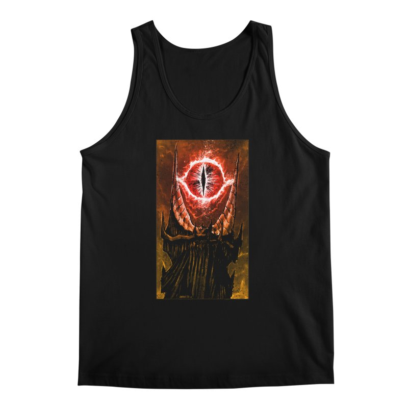 The Great Eye Men's Regular Tank by Ambrose H.H.'s Artist Shop