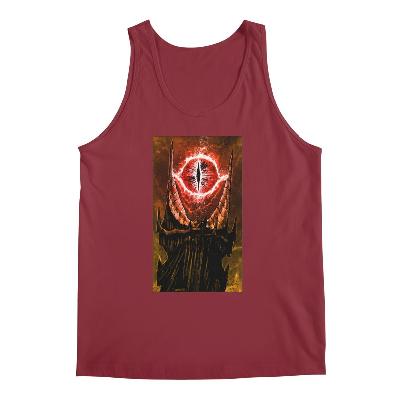 The Great Eye Men's Tank by Ambrose H.H.'s Artist Shop