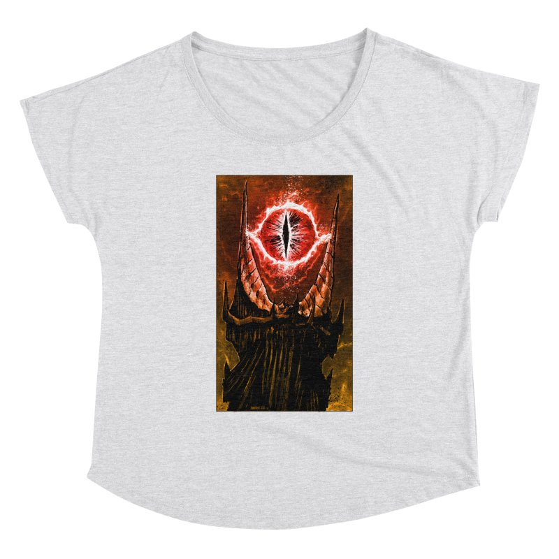 The Great Eye Women's Scoop Neck by Ambrose H.H.'s Artist Shop