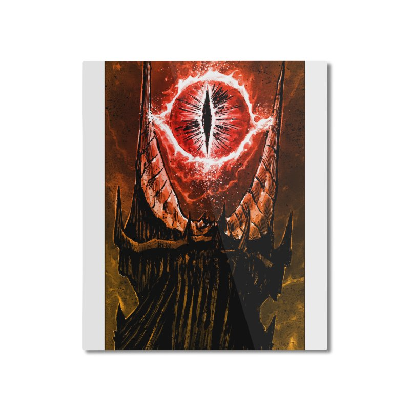 The Great Eye Home Mounted Aluminum Print by Ambrose H.H.'s Artist Shop