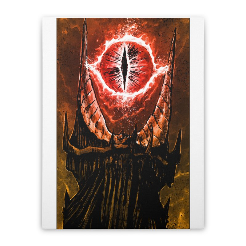 The Great Eye Home Stretched Canvas by Ambrose H.H.'s Artist Shop