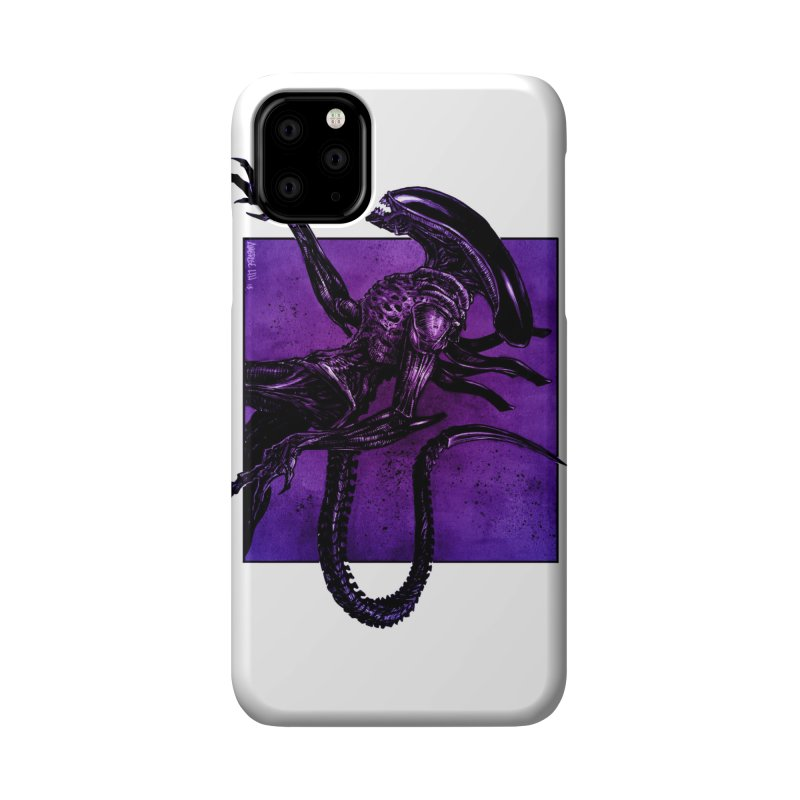 Xenomorph Accessories Phone Case by Ambrose H.H.'s Artist Shop