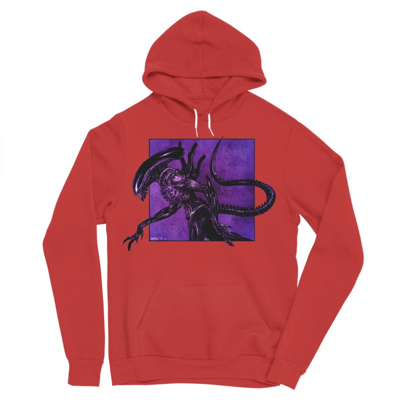 Xenomorph Men's Pullover Hoody by Ambrose H.H.'s Artist Shop