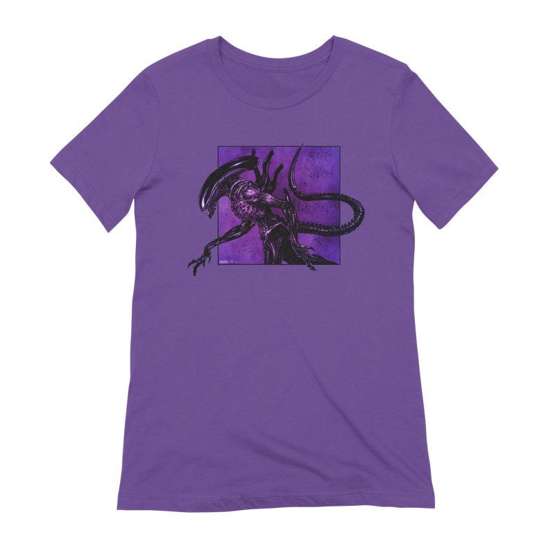 Xenomorph Women's Extra Soft T-Shirt by Ambrose H.H.'s Artist Shop