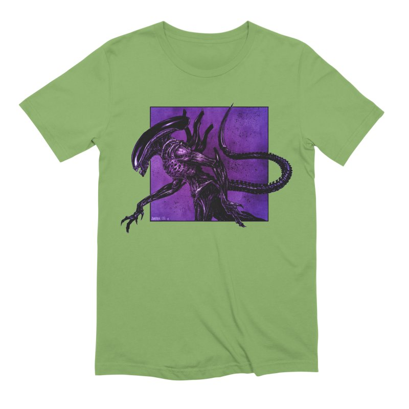 Xenomorph Men's Extra Soft T-Shirt by Ambrose H.H.'s Artist Shop