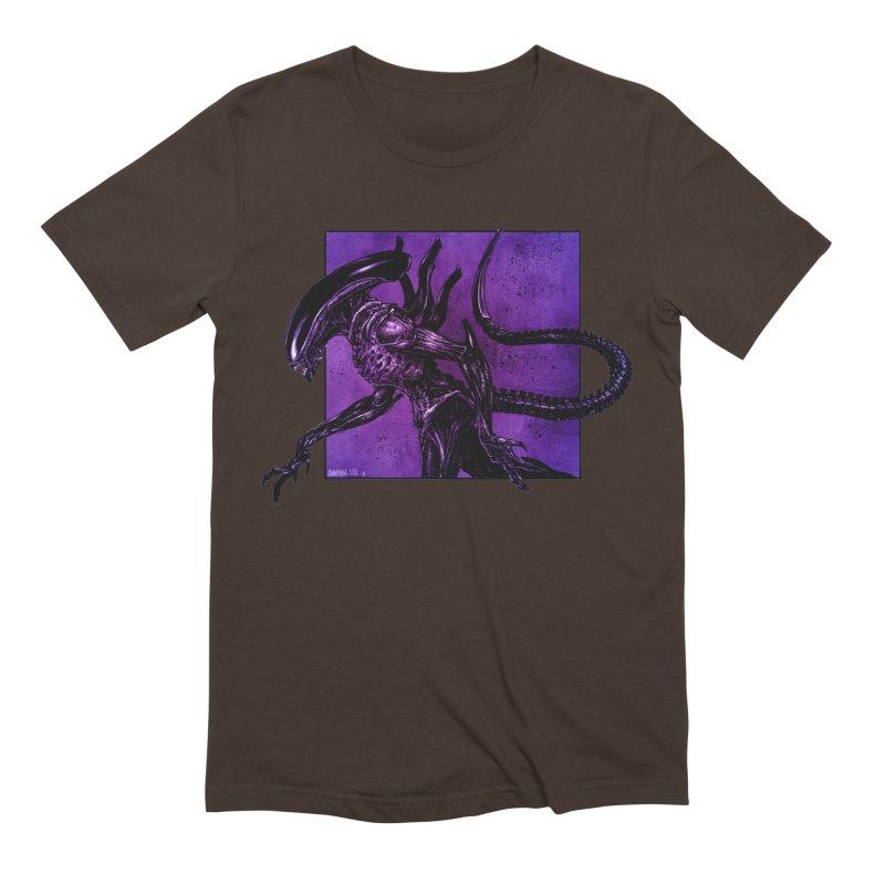 Xenomorph Men's Extra Soft T-Shirt by Ambrose H.H.'s Artist Shop