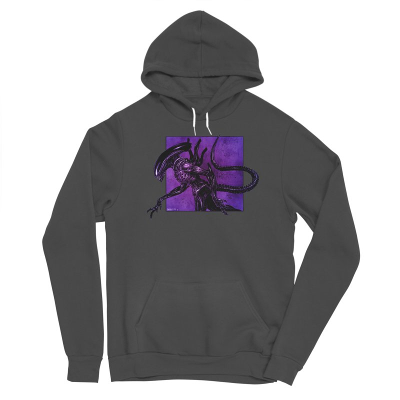 Xenomorph Women's Pullover Hoody by Ambrose H.H.'s Artist Shop
