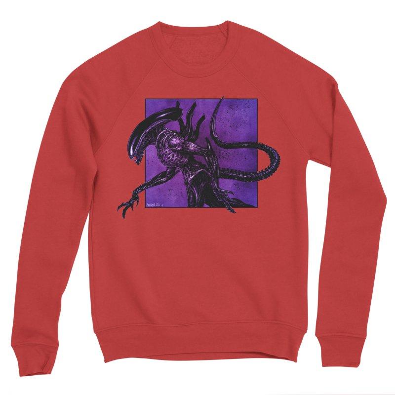 Xenomorph Men's Sponge Fleece Sweatshirt by Ambrose H.H.'s Artist Shop