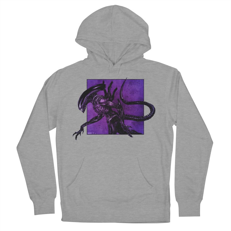 Xenomorph Women's French Terry Pullover Hoody by Ambrose H.H.'s Artist Shop