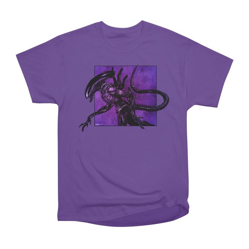 Xenomorph Men's Heavyweight T-Shirt by Ambrose H.H.'s Artist Shop