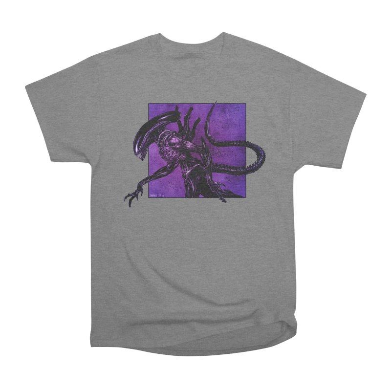 Xenomorph Women's Heavyweight Unisex T-Shirt by Ambrose H.H.'s Artist Shop