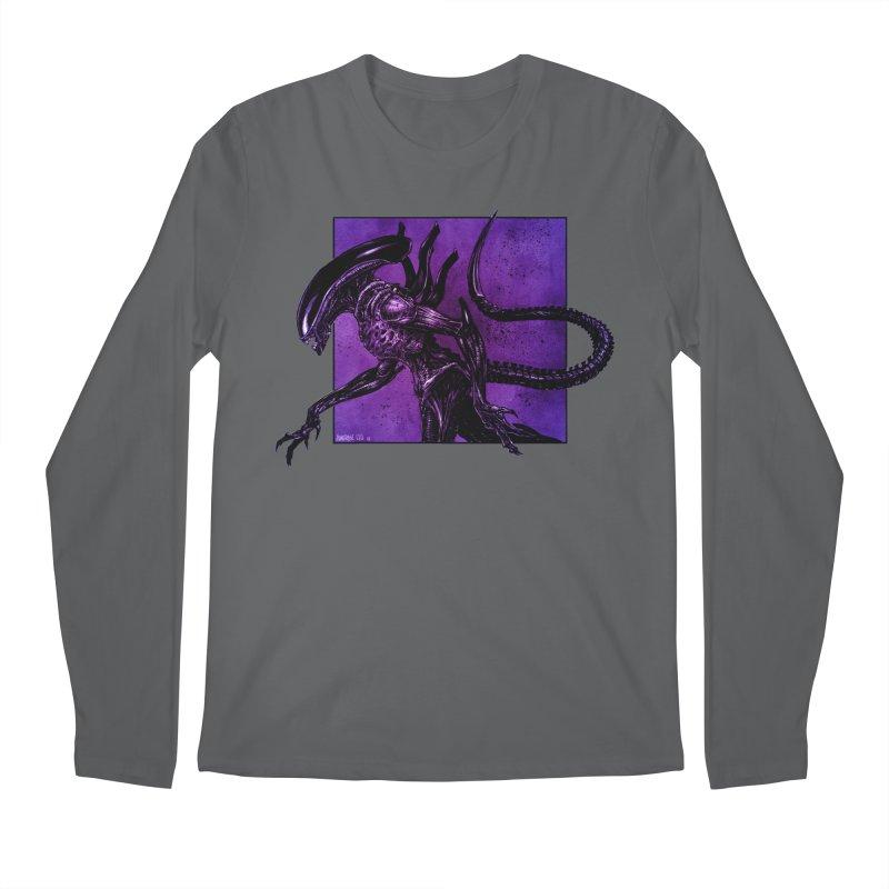 Xenomorph Men's Longsleeve T-Shirt by Ambrose H.H.'s Artist Shop