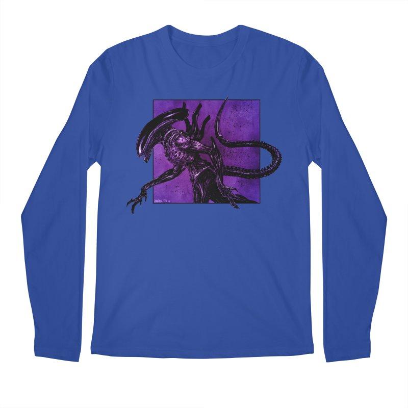 Xenomorph Men's Regular Longsleeve T-Shirt by Ambrose H.H.'s Artist Shop