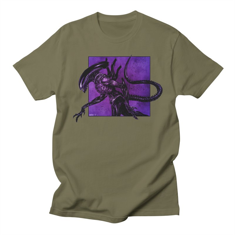 Xenomorph Men's T-Shirt by Ambrose H.H.'s Artist Shop