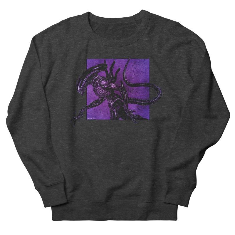 Xenomorph Women's French Terry Sweatshirt by Ambrose H.H.'s Artist Shop