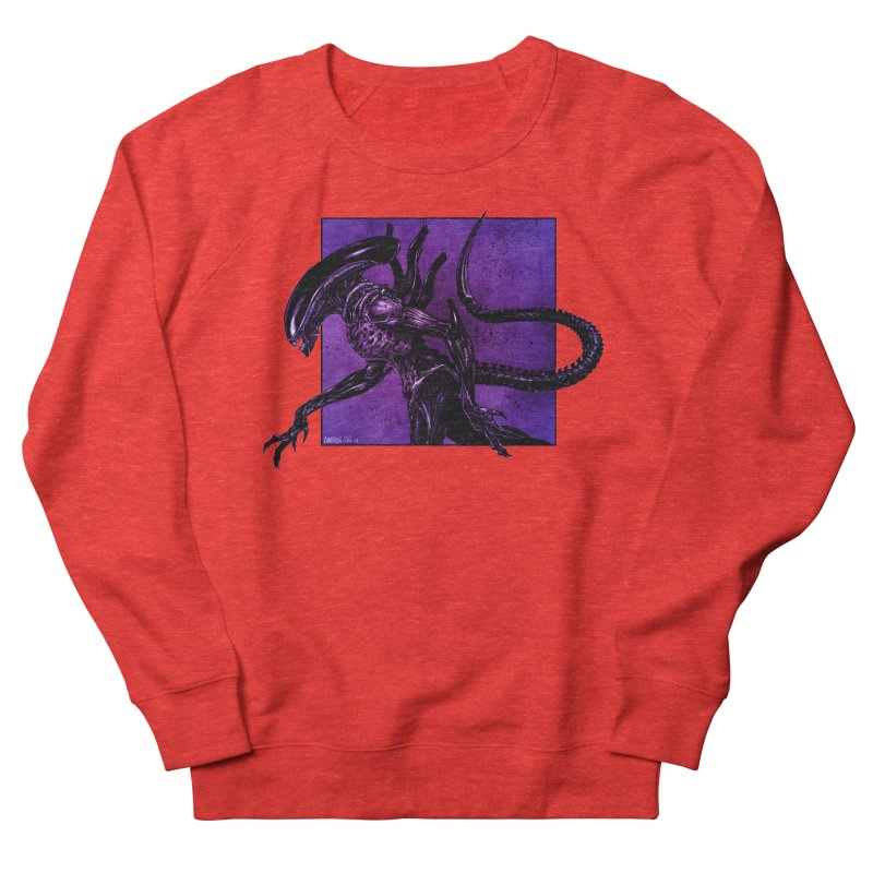 Xenomorph Men's Sweatshirt by Ambrose H.H.'s Artist Shop